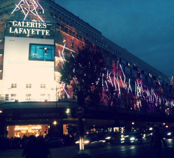 Шопинг-молл Galeries Lafayette